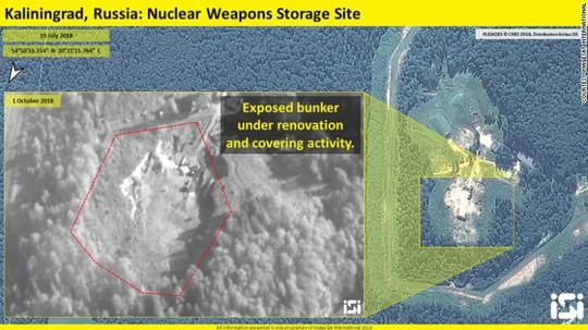 Ảnh vệ tinh: Nga ồ ạt nâng cấp cơ sở quân sự gần NATO - Ảnh 1.