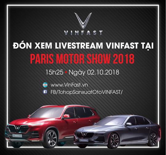 David Beckham là người đầu tiên trải nghiệm xe VinFast tại Paris Motor Show? - Ảnh 3.