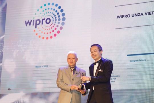 Wipro Unza nhận giải thưởng bình chọn một trong những nơi làm việc tốt nhất châu Á - Ảnh 1.