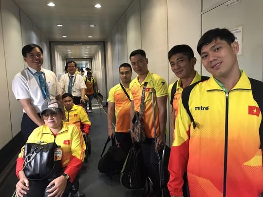Vietnam Airlines dành thủ tục đặc biệt cho đoàn thể thao dự Asian Para Games 3 - Ảnh 3.