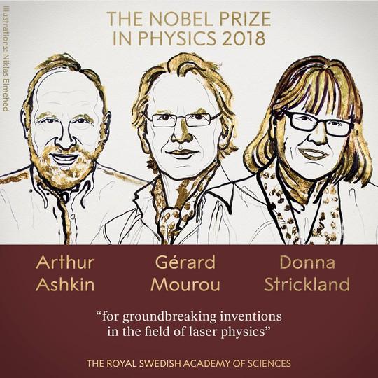 Đoạt giải Nobel Vật lý 2018 ở tuổi 96 - Ảnh 2.