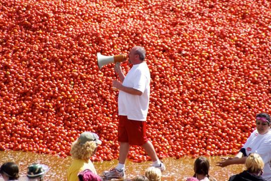Lễ hội cà chua nhuộm đỏ Tây Ban Nha có gì thú vị? - Ảnh 1.