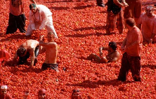 Lễ hội cà chua nhuộm đỏ Tây Ban Nha có gì thú vị? - Ảnh 12.