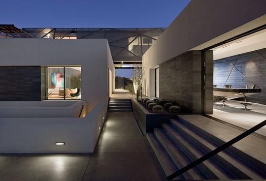Ngôi nhà tuyệt đẹp giữa mênh mông biển cát - Ảnh 13.
