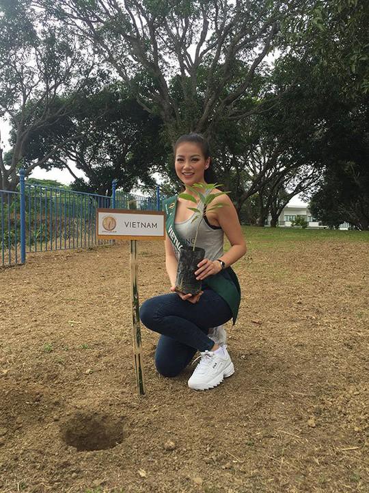 Hoa hậu Trái đất 2018: Nhan sắc Việt đoạt HCB phần thi áo tắm - Ảnh 4.