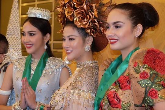 Hoa hậu Trái đất 2018: Nhan sắc Việt đoạt HCB phần thi áo tắm - Ảnh 3.