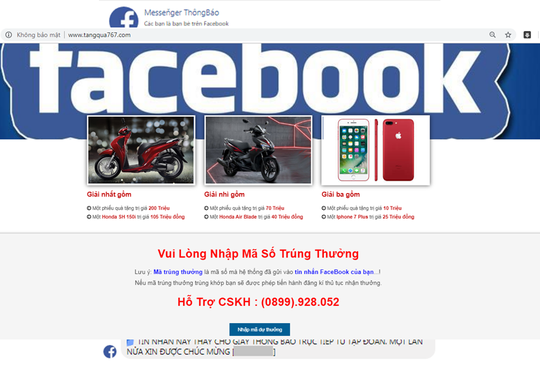 Lừa đảo trên Facebook ngày càng tăng - Ảnh 3.