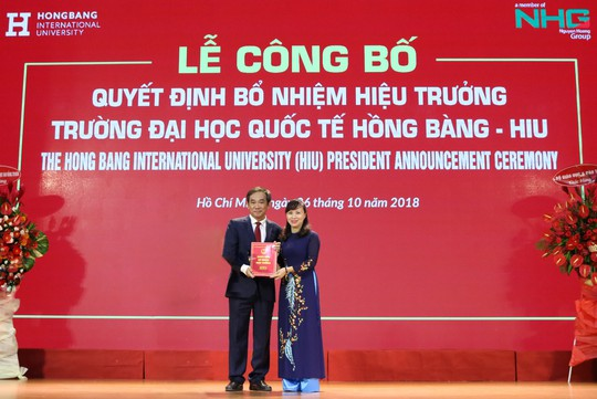 PGS-TS Hồ Thanh Phong làm hiệu trưởng Trường ĐH Quốc tế Hồng Bàng - Ảnh 1.