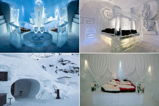 Những khách sạn băng tuyết tuyệt đẹp trên thế giới - Ảnh 1.