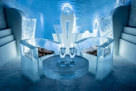 Những khách sạn băng tuyết tuyệt đẹp trên thế giới - Ảnh 2.