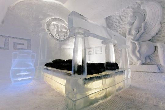 Những khách sạn băng tuyết tuyệt đẹp trên thế giới - Ảnh 4.