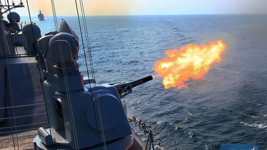Đọ uy lực tàu chiến trong tập trận chung Trung Quốc - ASEAN - Ảnh 2.
