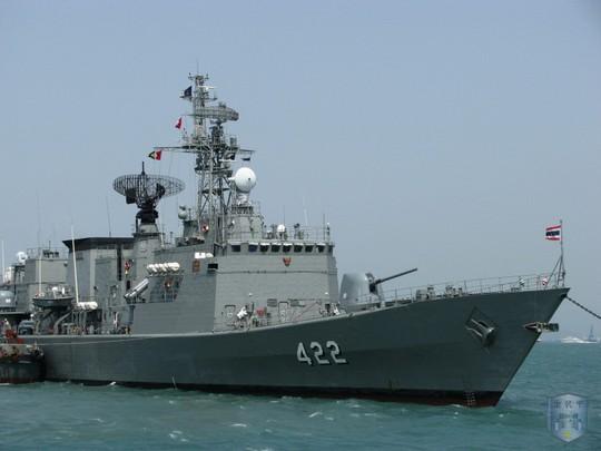 Đọ uy lực tàu chiến trong tập trận chung Trung Quốc - ASEAN - Ảnh 4.
