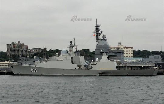 Đọ uy lực tàu chiến trong tập trận chung Trung Quốc - ASEAN - Ảnh 5.