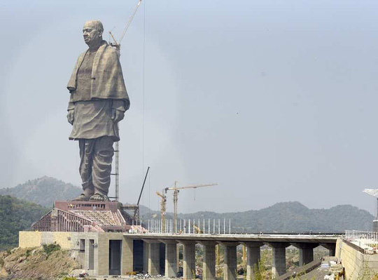 Ấn Độ: Tượng đài 430 triệu USD gây bức xúc - ảnh 1