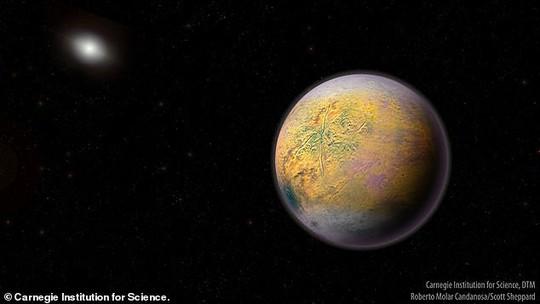 Có một siêu trái đất lắc lư ngay trong Hệ Mặt Trời! - Ảnh 1.