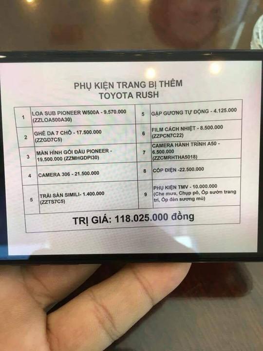 Toyota Rush 7 chỗ niêm yết 600 triệu 'về tay' 900 triệu: Dân Việt choáng váng - Ảnh 2.
