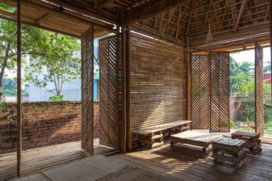 Ngôi nhà tre Việt 50 triệu giành giải thưởng thiết kế của Đức - Ảnh 2.