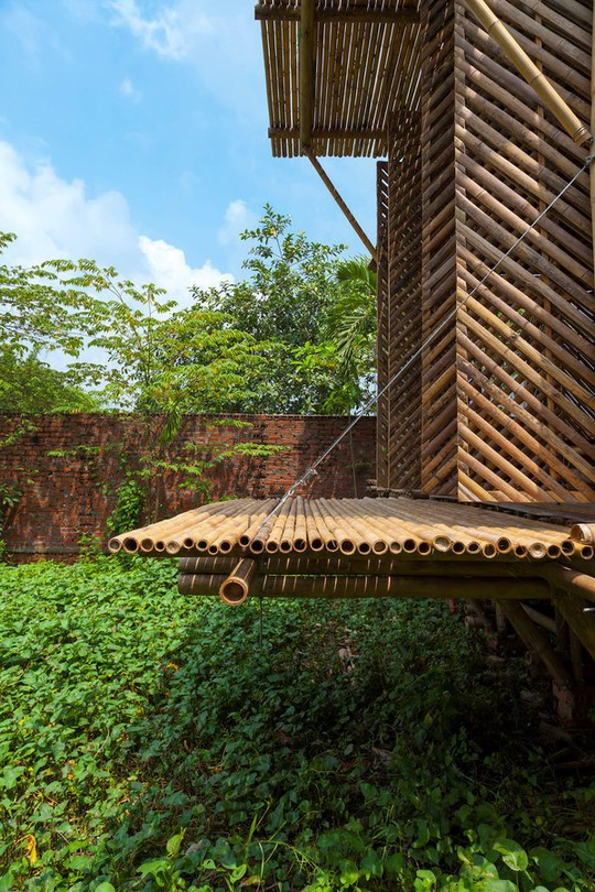 Ngôi nhà tre Việt 50 triệu giành giải thưởng thiết kế của Đức - Ảnh 4.