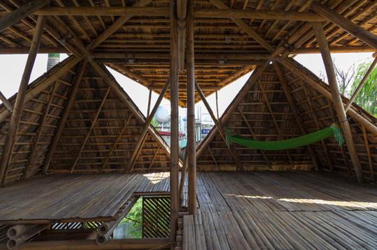 Ngôi nhà tre Việt 50 triệu giành giải thưởng thiết kế của Đức - Ảnh 7.
