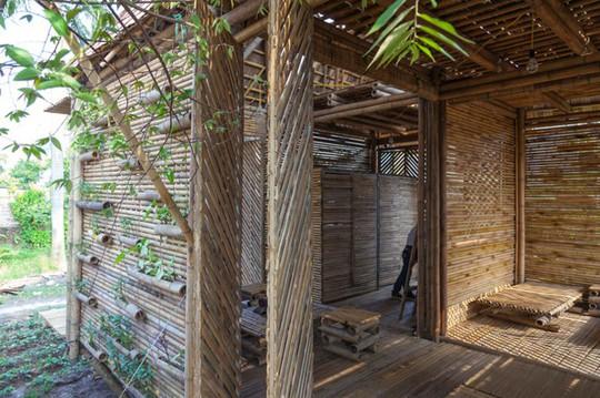 Ngôi nhà tre Việt 50 triệu giành giải thưởng thiết kế của Đức - Ảnh 8.