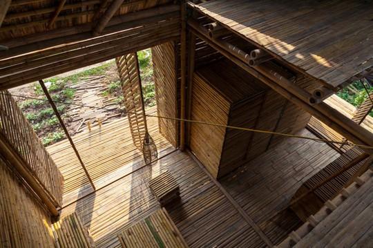 Ngôi nhà tre Việt 50 triệu giành giải thưởng thiết kế của Đức - Ảnh 9.