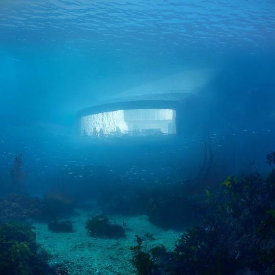 Những kiến trúc dưới nước độc nhất vô nhị - Ảnh 2.