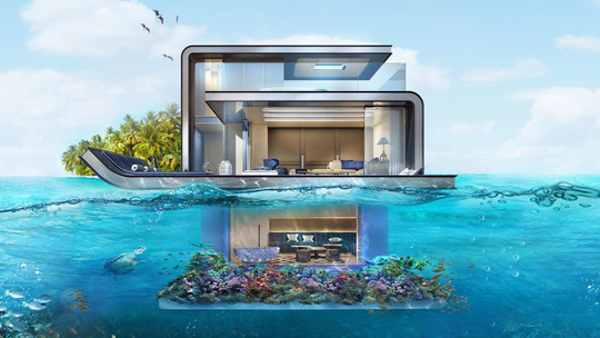 Những kiến trúc dưới nước độc nhất vô nhị - Ảnh 9.