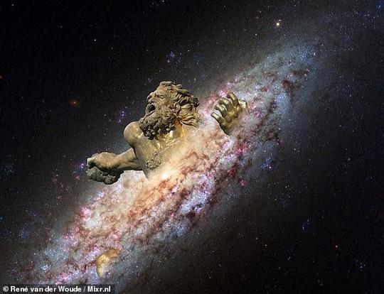 Phát hiện thiên hà ma của nữ thần Gaia tạo ra thế giới - Ảnh 1.