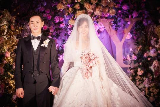 Đường Yên - La Tấn lộ ảnh đám cưới lung linh - Ảnh 4.