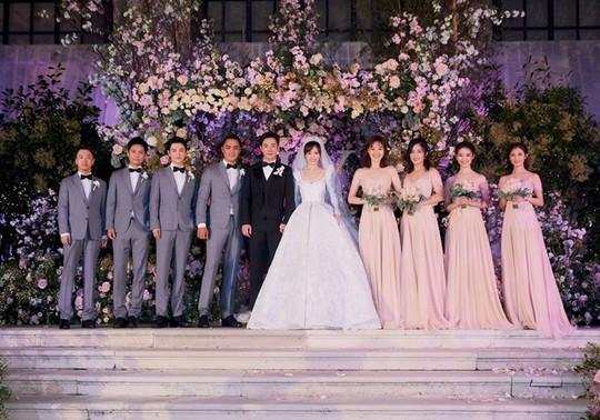 Đường Yên - La Tấn lộ ảnh đám cưới lung linh - Ảnh 5.