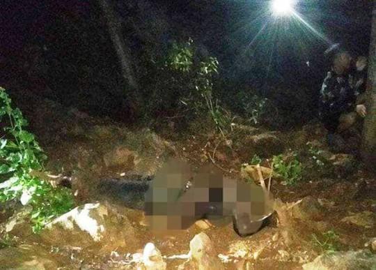 Phát hiện thi thể 1 người đàn ông mất đầu, không mặc áo trên đồi - Ảnh 1.