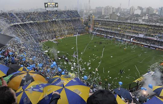 Siêu kinh điển Boca Juniors - River Plate lấn át derby Manchester - Ảnh 1.