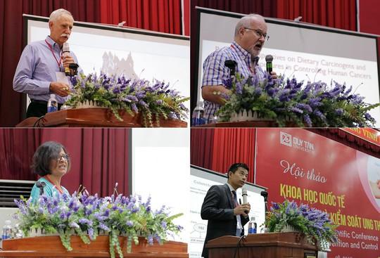 Hội thảo quốc tế về Phòng chống và Kiểm soát Ung thư tại ĐH Duy Tân - Ảnh 1.