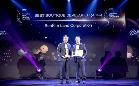 SonKim Land  nhận giải Best Boutique Developer 2018 - Ảnh 2.