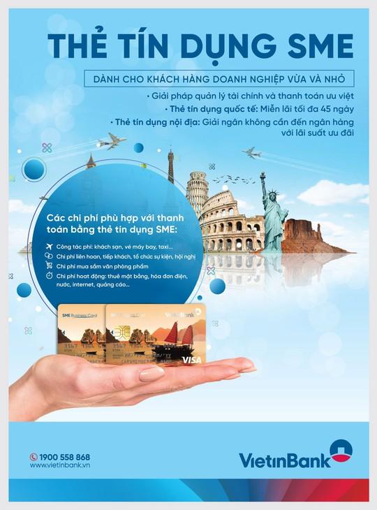 Tính ưu việt của thẻ SME Business Card