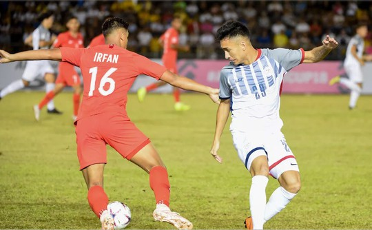 Philippines thắng nhọc ngày HLV Eriksson ra mắt - Ảnh 1.