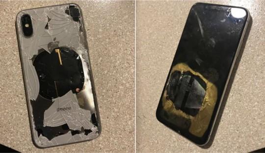 iPhone X phát nổ sau khi nâng cấp iOS 12.1 - Ảnh 1.