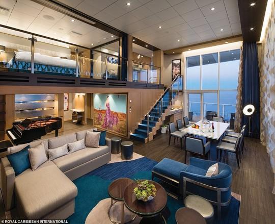 """Du thuyền lớn nhất thế giới """"chào sân"""" tại Mỹ - Ảnh 5."""