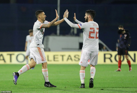Thua sốc Croatia, Tây Ban Nha vỡ mộng Nations League - Ảnh 4.