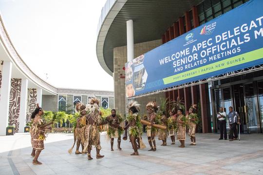 Cạnh tranh Trung - Mỹ phủ bóng APEC 2018 - Ảnh 1.