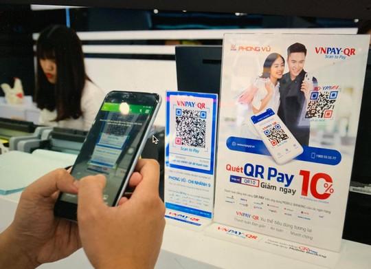 Thanh toán bằng QR Code thu hút người dùng Việt - Ảnh 1.