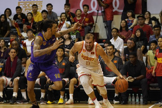South Asian Asian professional basketball ball 2018-2019: Saigon Heat up the dramatic stream - Picture 1.