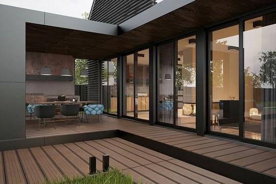 Ngôi nhà hiện đại với sân hiên làm nơi thư giãn tuyệt vời - Ảnh 2.