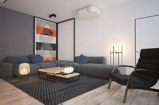 Ngôi nhà hiện đại với sân hiên làm nơi thư giãn tuyệt vời - Ảnh 3.