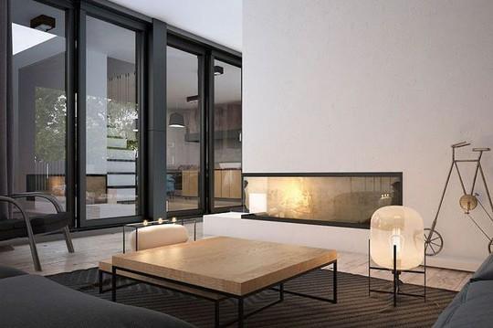 Ngôi nhà hiện đại với sân hiên làm nơi thư giãn tuyệt vời - Ảnh 4.