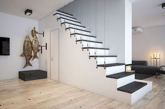 Ngôi nhà hiện đại với sân hiên làm nơi thư giãn tuyệt vời - Ảnh 8.