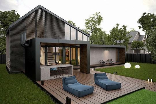 Ngôi nhà hiện đại với sân hiên làm nơi thư giãn tuyệt vời - Ảnh 9.