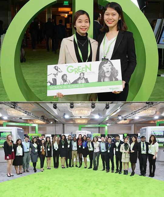 Sinh viên Duy Tân giành giải Women in Business Global Award tại Mỹ - Ảnh 1.