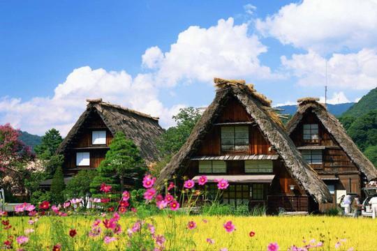 Những ngôi nhà đẹp tựa tranh vẽ ở nông thôn Nhật Bản - Ảnh 11.